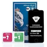 Стъклен Протектор за iPhone 7/8, 5D Premium Full, Черен