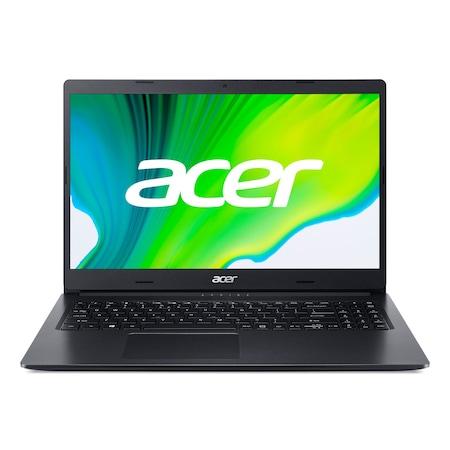 Лаптоп Acer Aspire 3 A315-23-R4M8 с AMD Ryzen 5 3500U (2.1/3.7 GHz, 4M), 8 GB, 512GB M.2 NVMe SSD, AMD Radeon Vega 8, Windows 10 Pro 64-bit, черен