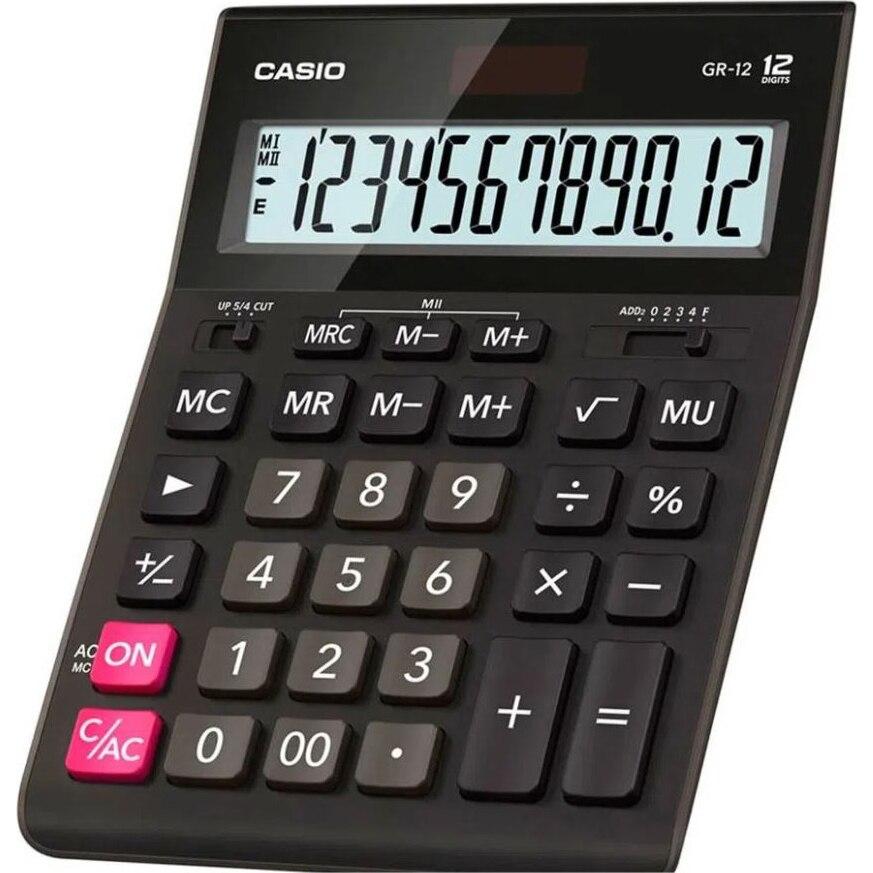 Fotografie Calculator Casio 12 digitsits gr-12-w-ep