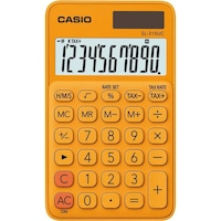 Calculator Casio birou 10 digits sl-310uc, portocaliu