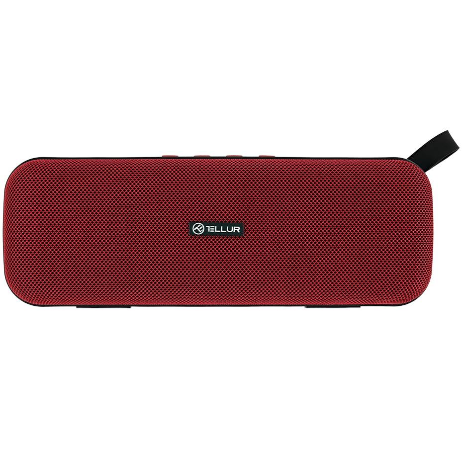 Fotografie Boxa portabila Bluetooth Tellur Loop 10W, Rosu