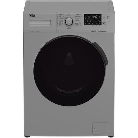 Masina de spalat rufe Beko WUE7512XSST, 7 kg, 1000 RPM, Clasa A+++, Motor ProSmart Inverter, Hygiene+SteamCure, Gri