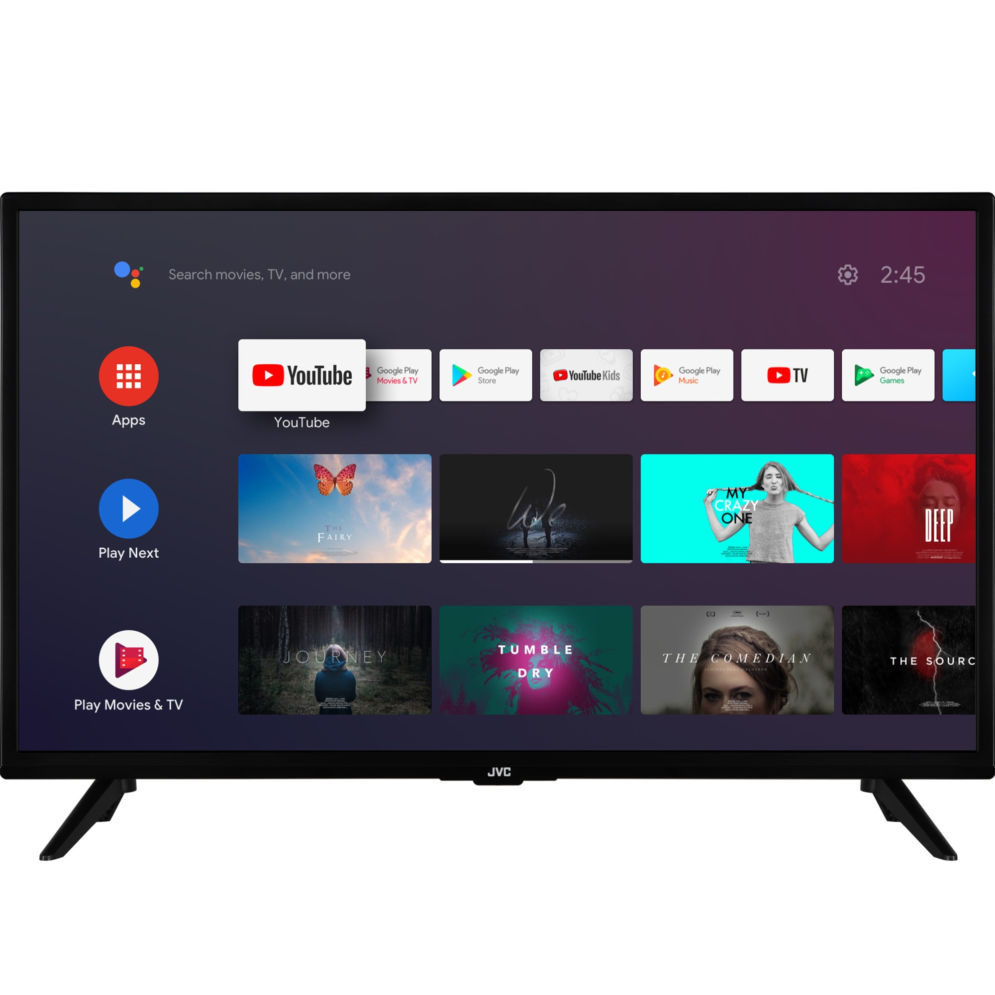 Fotografie Televizor JVC LT-32VAH3000, 80 cm, Smart Android, HD