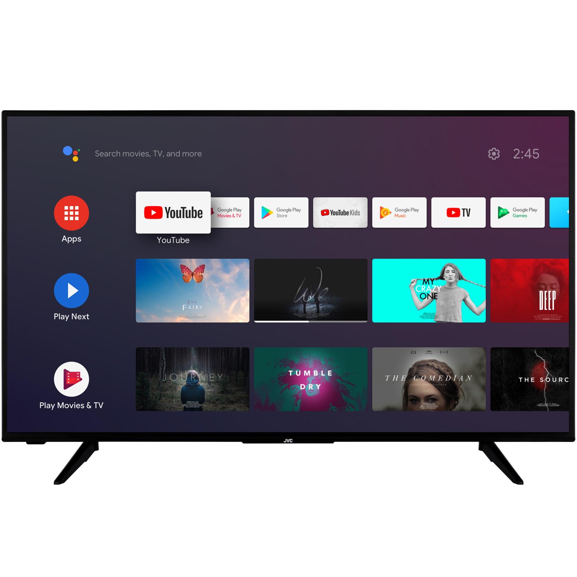 Fotografie Televizor JVC LT-43VAF3000, 108 cm, Smart Android, Full HD, LED, Clasa E
