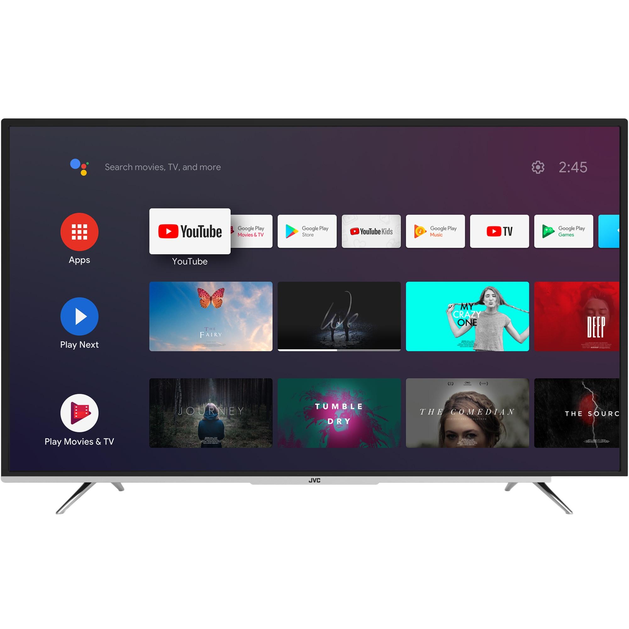 Fotografie Televizor JVC LT-58VA6900, 146 cm, Smart Android, 4K Ultra HD, LED, Clasa A++