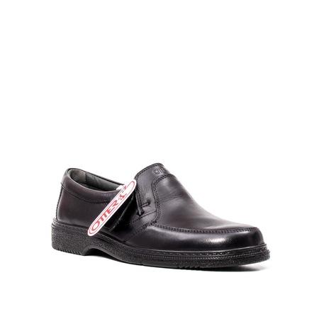 Pantofi casual barbat, piele naturala, OT27850 01-N Negru 44 EU