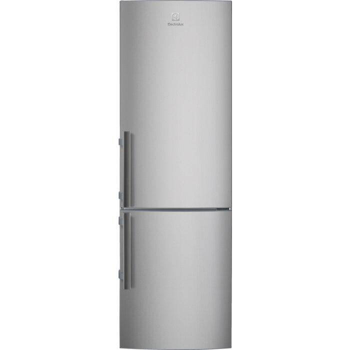 Fotografie Combina frigorifica Electrolux LNT3LE34X4, 329 l, Clasa E, ColdSense, H 185 cm, Inox antiamprenta