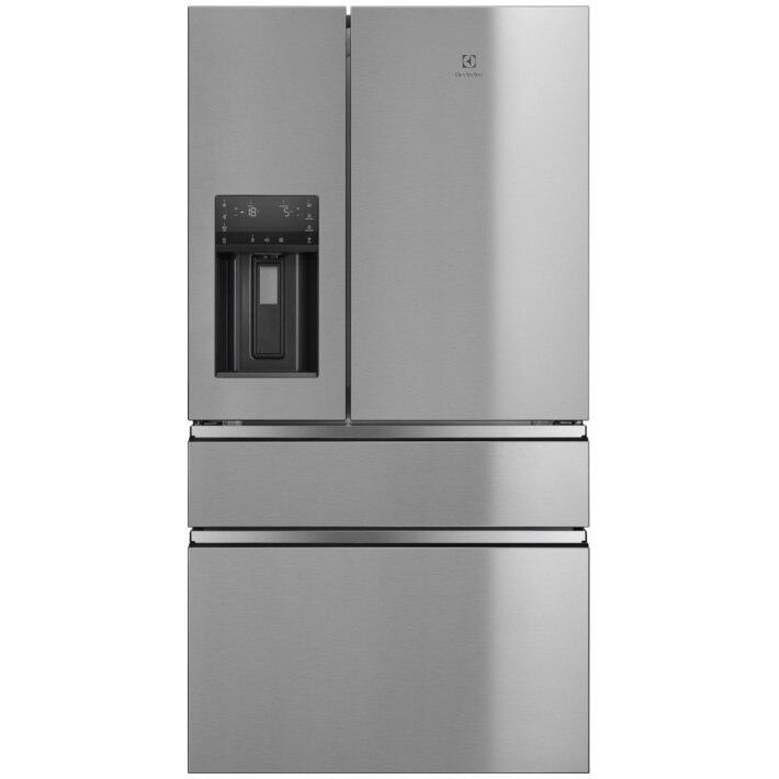 Fotografie Combina frigorifica Electrolux LLI9VF54X0, 541 l, Clasa F, Full No Frost, Wi-Fi, H 178 cm, Inox antiamprenta