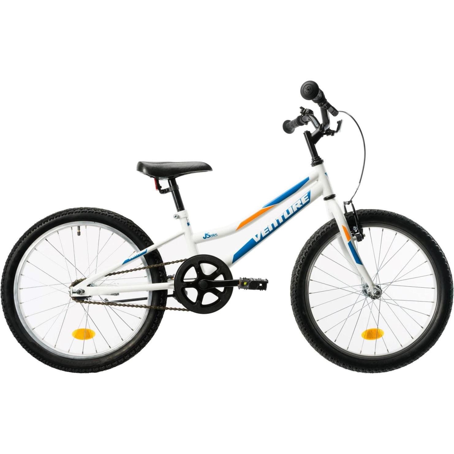 Fotografie Bicicleta Copii Venture 2011 Alb-Albastru 20 inch