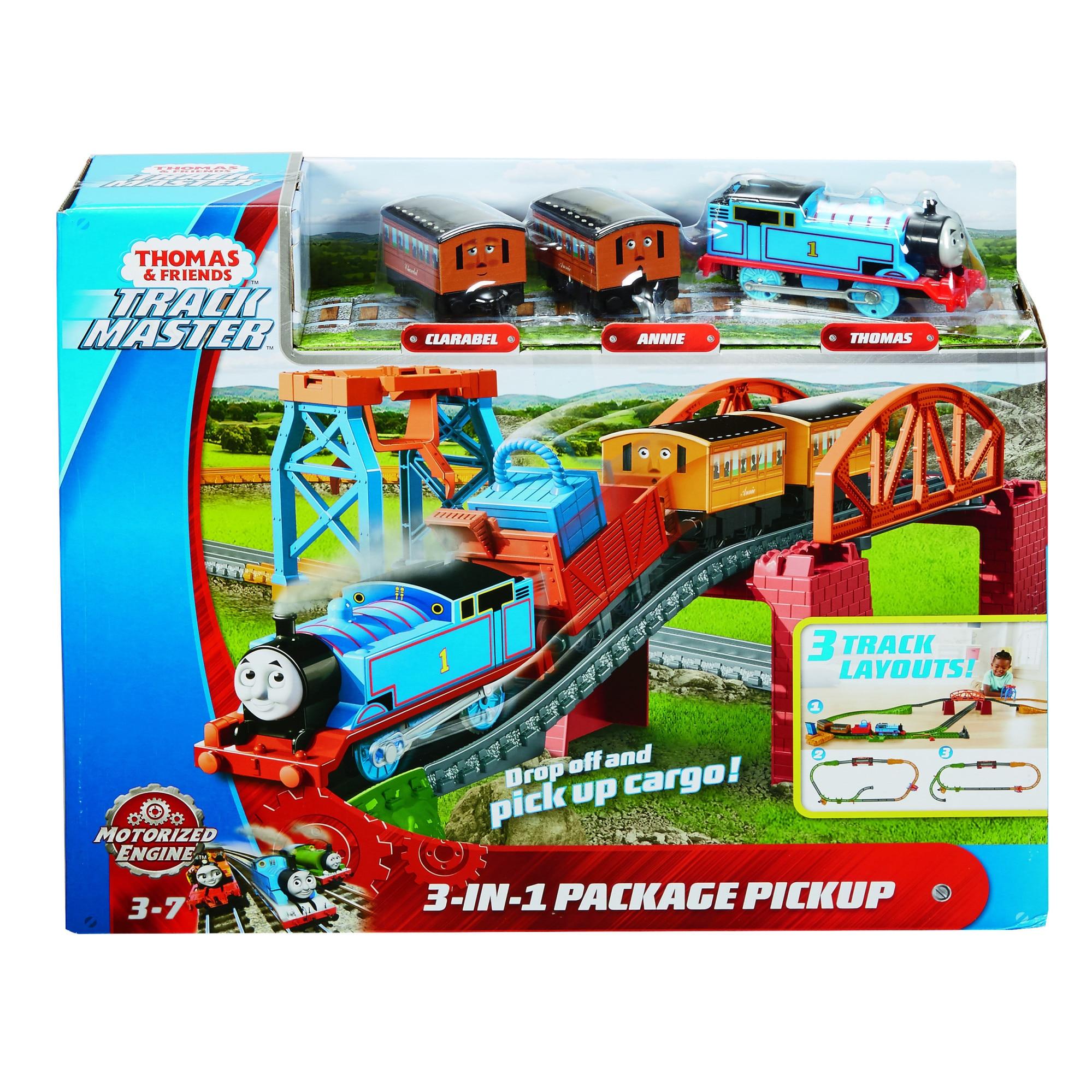 Fotografie Set de joaca Thomas & Friends 3 in 1 - Track Master, Package pickup