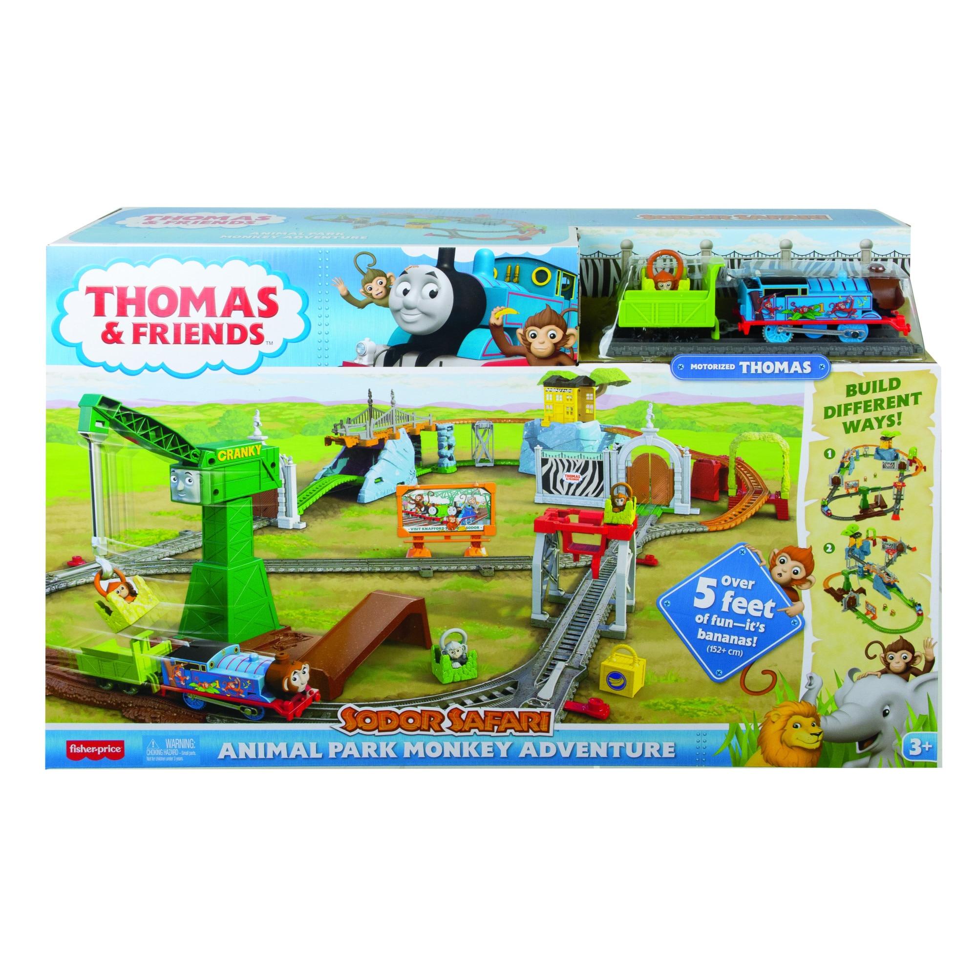 Fotografie Set de joaca Thomas & Friends - Sodor Safari, Aventuri in parcul cu animale