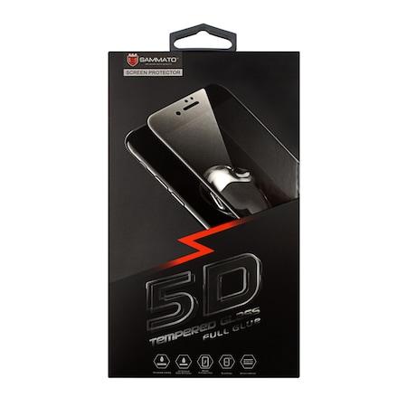 Стъклен протектор SAMMATO 5D за iPhone 7/8 ,бял