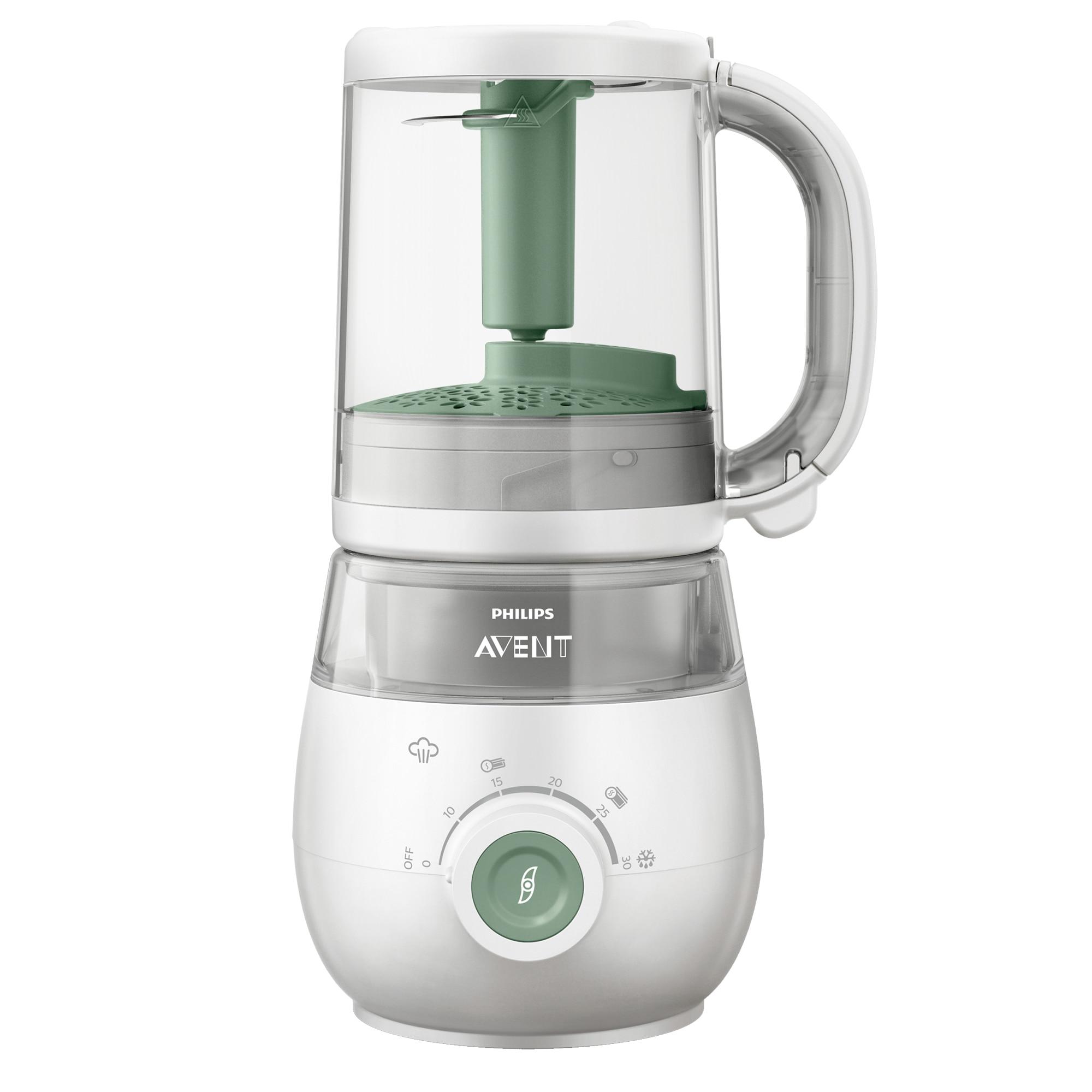 Fotografie Aparat 4in1 Philips-AVENT SCF885/01 pentru prepararea hranei bebelusilor