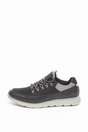 Timberland, Pantofi de piele nabuc Killington Hiker, Negru, 8
