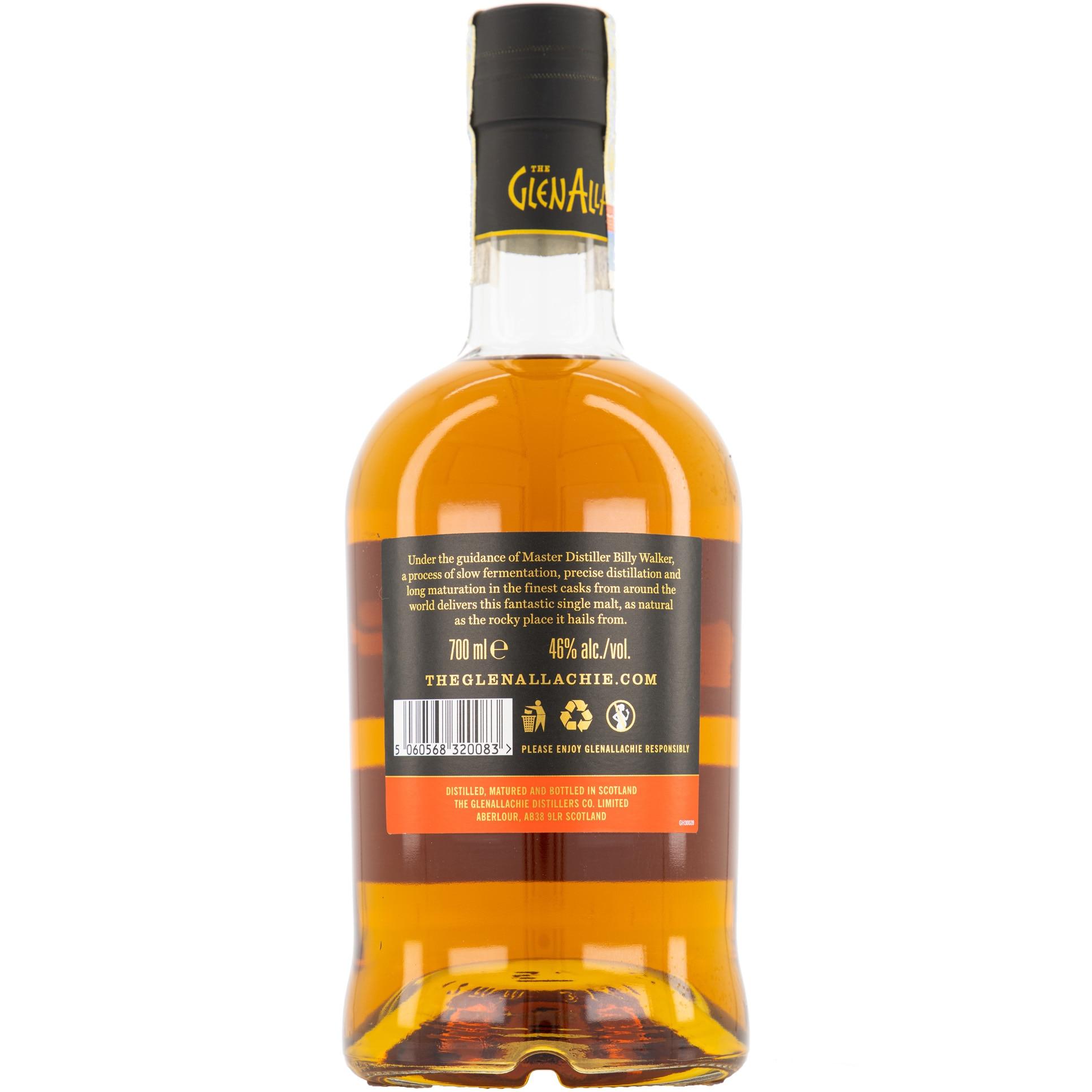 Glenallachie back bottle ean