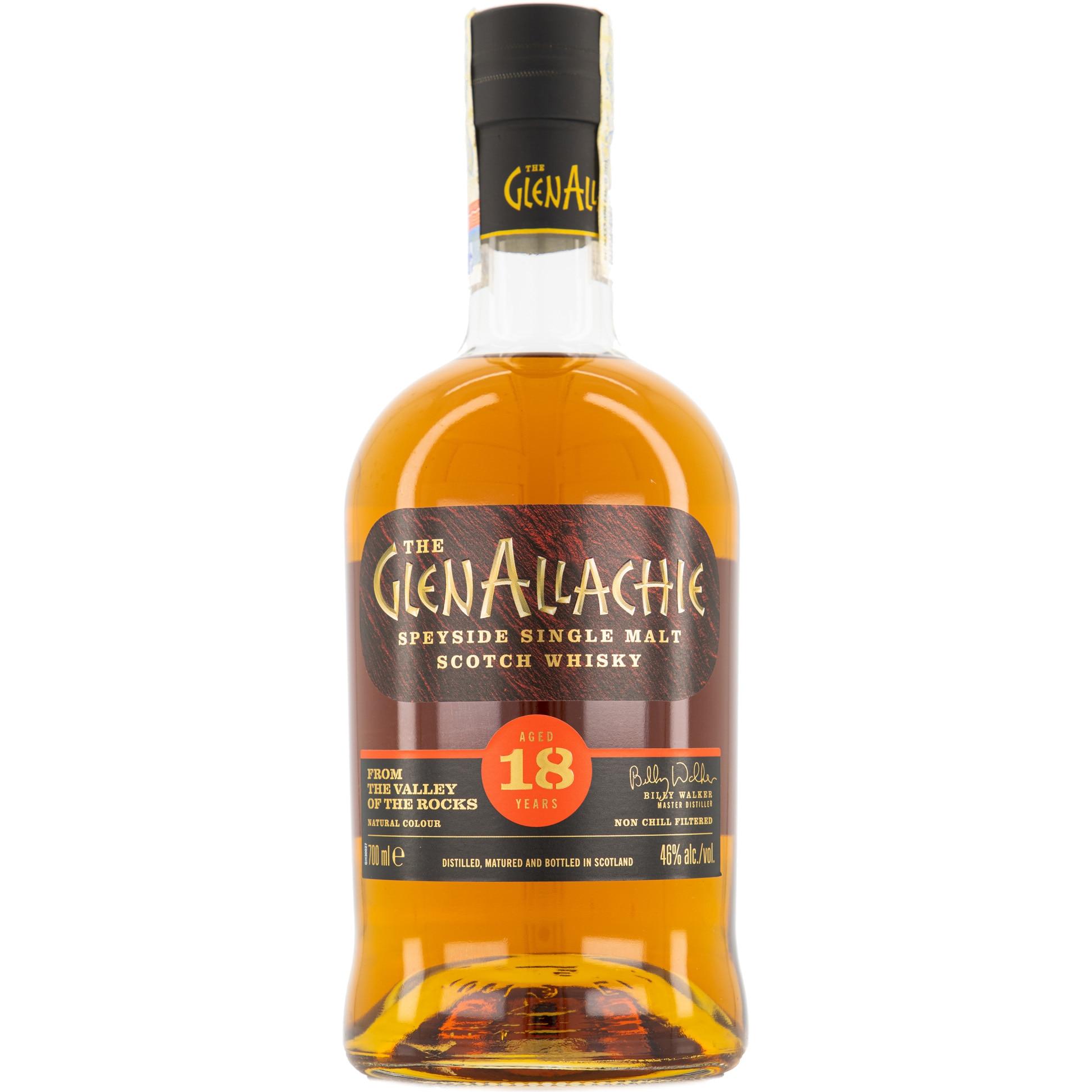 Glenallachie Front Bottle