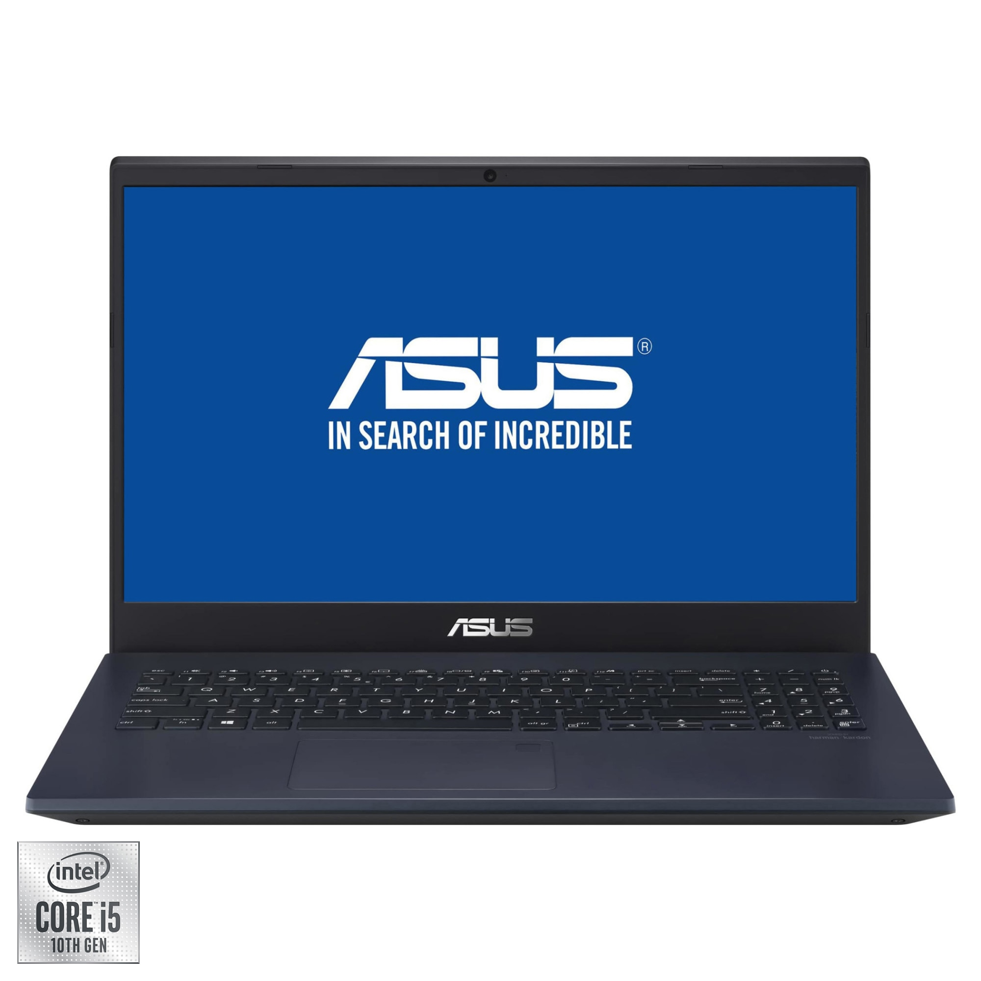 "Fotografie Laptop ASUS VivoBook 15 X571LI cu procesor Intel® Core™ i5-10300H pana la 4.50 GHz, 15.6"", Full HD, 8GB, 512GB SSD, NVIDIA® GeForce® GTX 1650 Ti 4GB, Free DOS, Star Black"