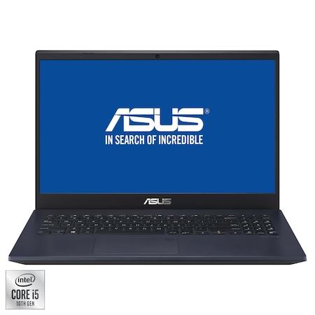 "Лаптоп ASUS VivoBook 15 X571LI, 15.6"", Intel® Core™ i5-10300H, RAM 8GB, SSD 256GB, HDD 1TB, NVIDIA® GeForce® GTX 1650 Ti 4GB, Free DOS, Star Black"