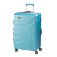 Travelite Vector nagy bőrönd türkiz 4 kerekű