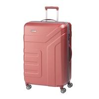 Travelite Vector nagy bőrönd korall 4 kerekű