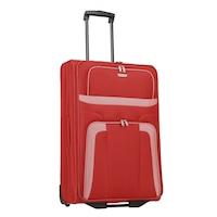 Travelite Orlando nagy bőrönd piros 2 kerekű