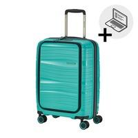 Travelite Motion kabinbőrönd menta 4 kerekű első zsebbel