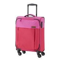 Travelite Neopak kabinbőrönd piros-pink 4 kerekű