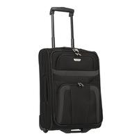 Travelite Orlando kabinbőrönd fekete 2 kerekű