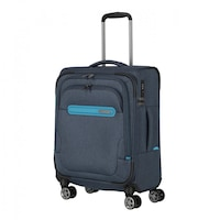 Travelite Madeira kabinbőrönd kék 4 kerekű