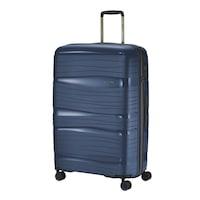 Travelite Motion nagy bőrönd kék 4 kerekű
