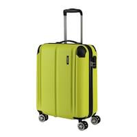 Travelite City kabinbőrönd sárga 4 kerekű
