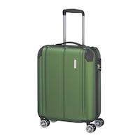 Travelite City kabinbőrönd zöld 4 kerekű