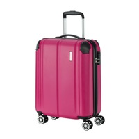 Travelite City kabinbőrönd pink 4 kerekű