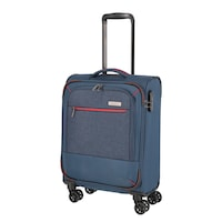 Travelite Arona kabinbőrönd kék 4 kerekű