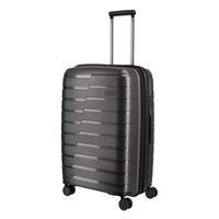 Travelite Air Base közepes bőrönd antracit 4 kerekű bővíthető
