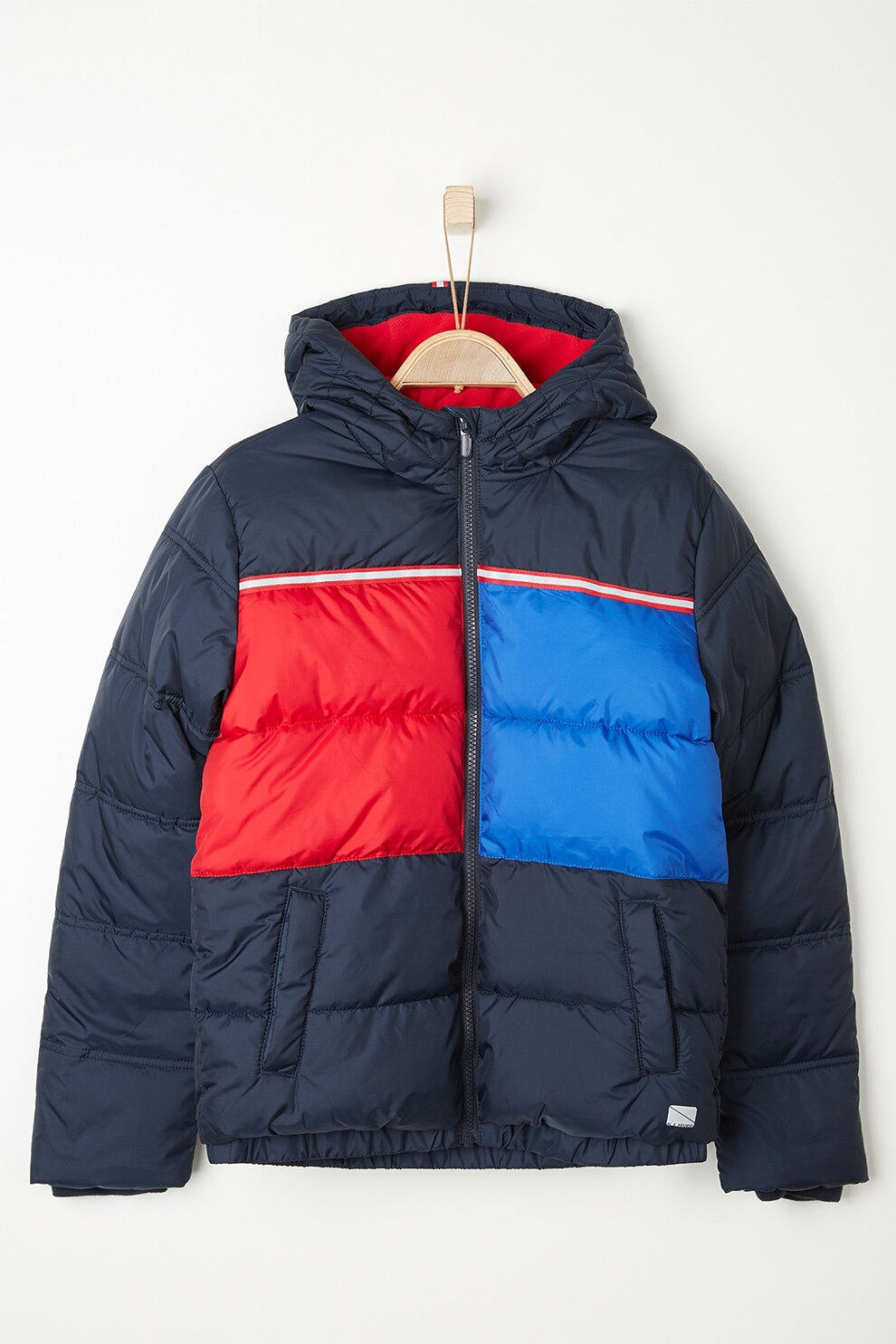 s.Oliver Fiú steppelt téli kabát 140 kék | MALL.HU