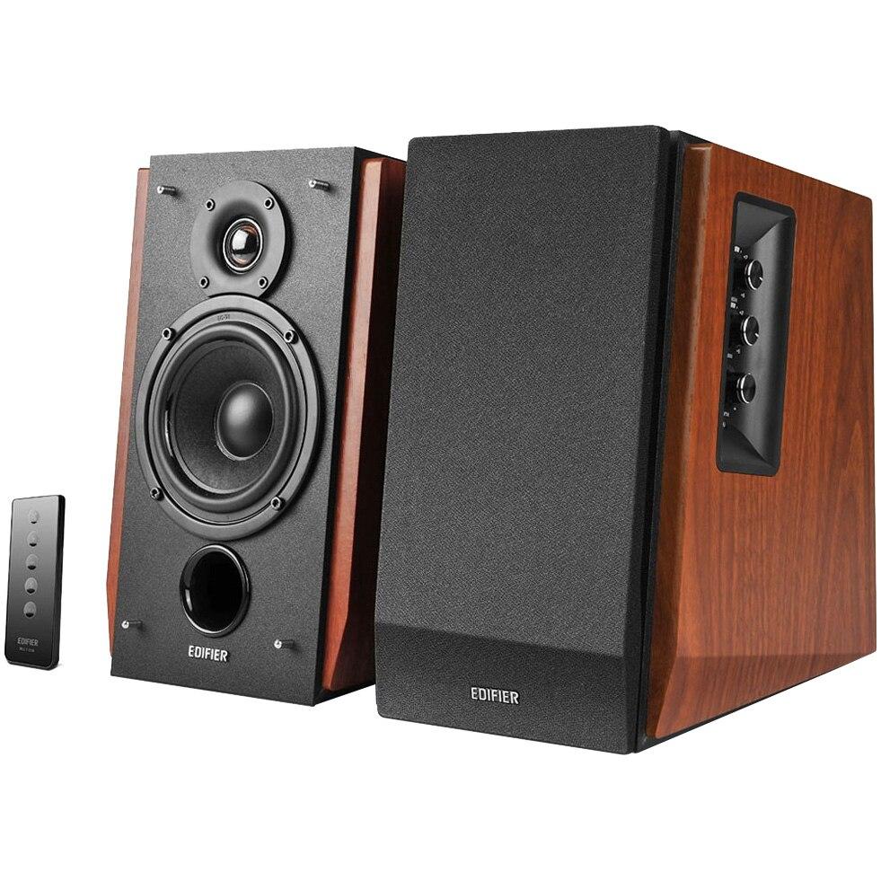 Fotografie Boxe Edifier 2.0 R1700BT-BR, 66W, Bluetooth, Telecomanda, Maro