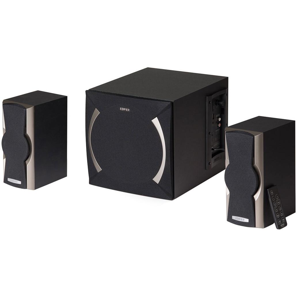Fotografie Boxe Edifier 2.1 XM6PF-BK, 48W, Negru
