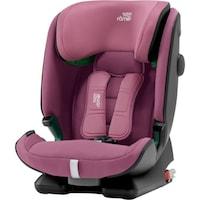 Столче за кола I-size Britax Romer ADVANSAFIX Wine Rose, 9-36 кг, С усъвършенствана защита за страничен удар, Розов