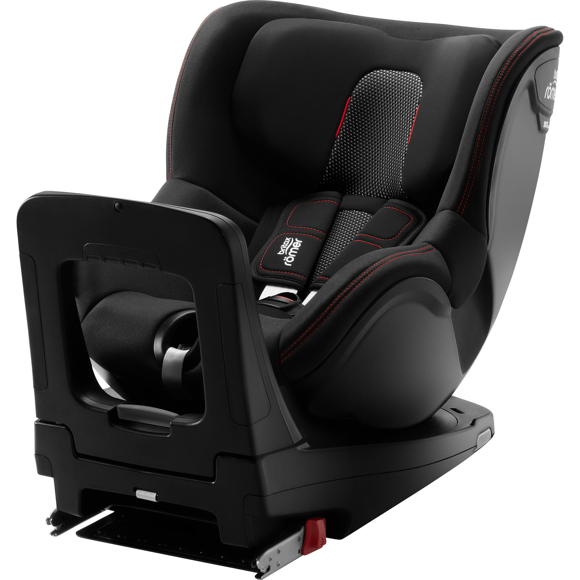 Fotografie Scaun auto ISOFIX Britax Romer Dualfix M i-Size Cool Flow Black, 0-18 kg, Negru