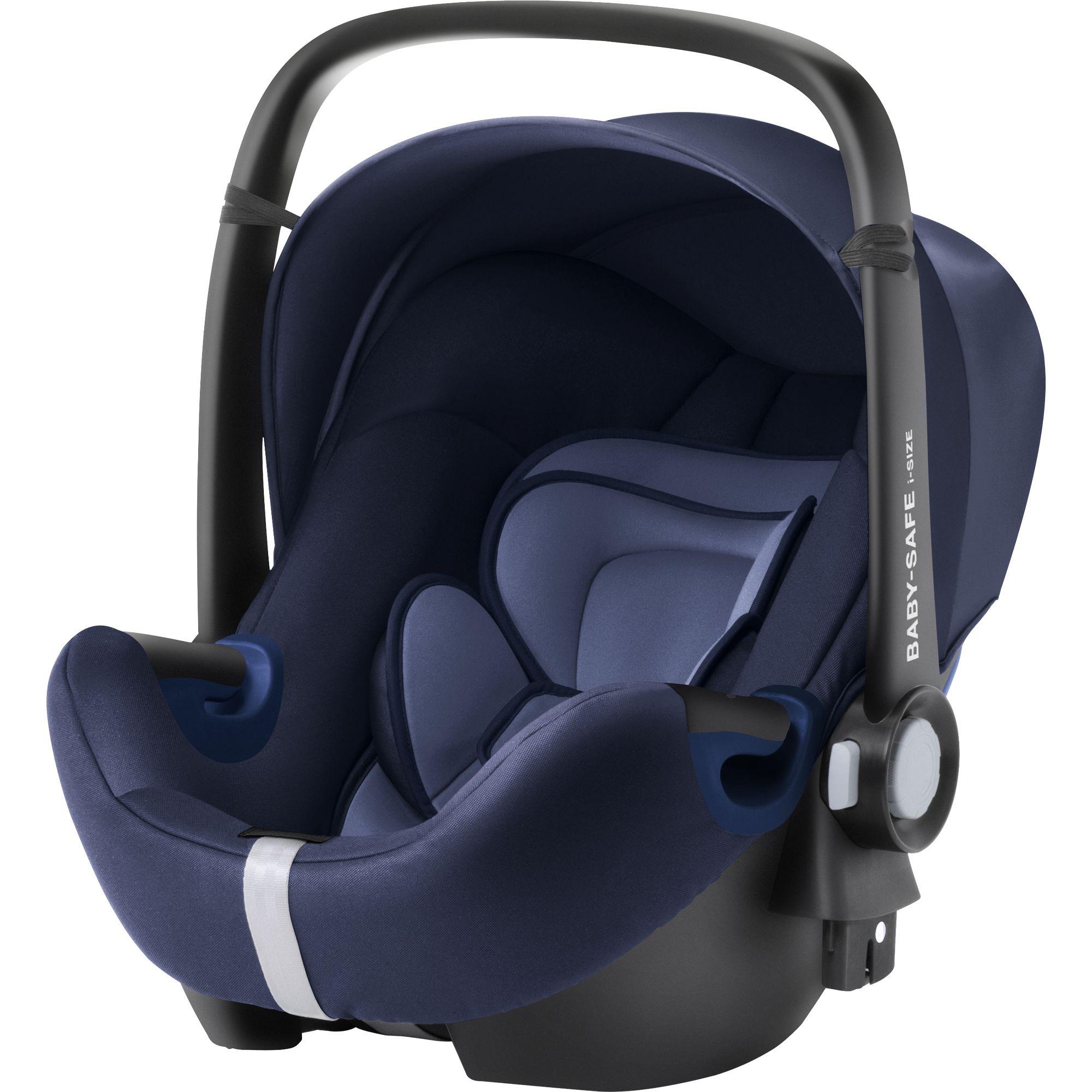 Fotografie Cos auto i-Size Britax Romer Baby Safe 2 Moonlight Blue, 40-83 cm, Albastru