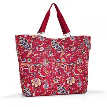 Reisenthel shopper XL shopper táska / strandtáska paisley ruby