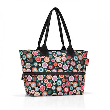 Reisenthel shopper e1 shopper táska happy flowers