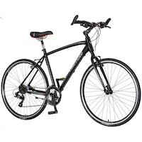 Visitor Terra Man férfi fitness kerékpár Fekete