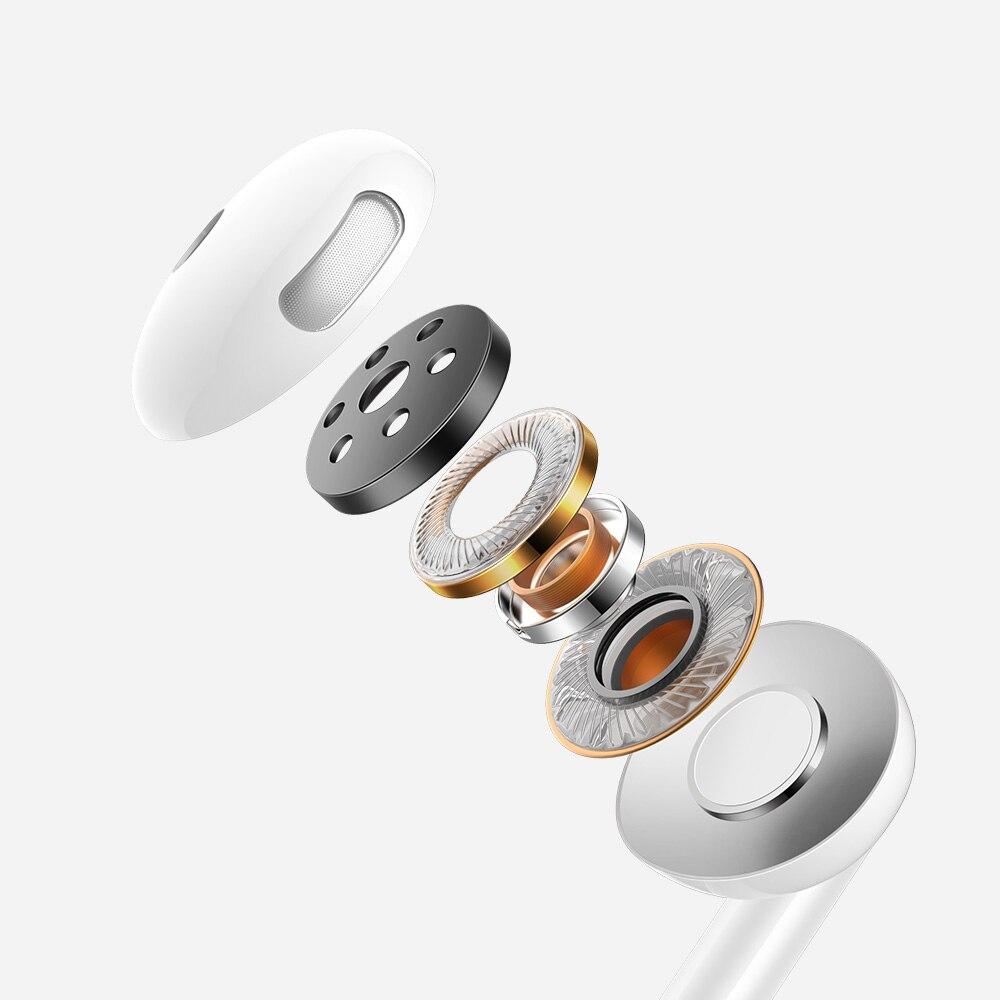 Mcdodo vezetékes fejhallgató Element jack 3.5mm fehér HP-6080 CHbRec