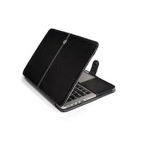 "Macbook Air Case 2015 - 2017, 13 "", ALITA, Eco bőr, fekete színű, Flip típusú"