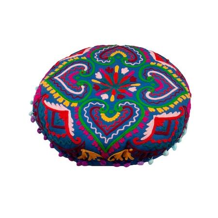 Perna Meditatie, Yoga, din bumbac, Umplutura Poliester, SNT 925, 40x8 cm