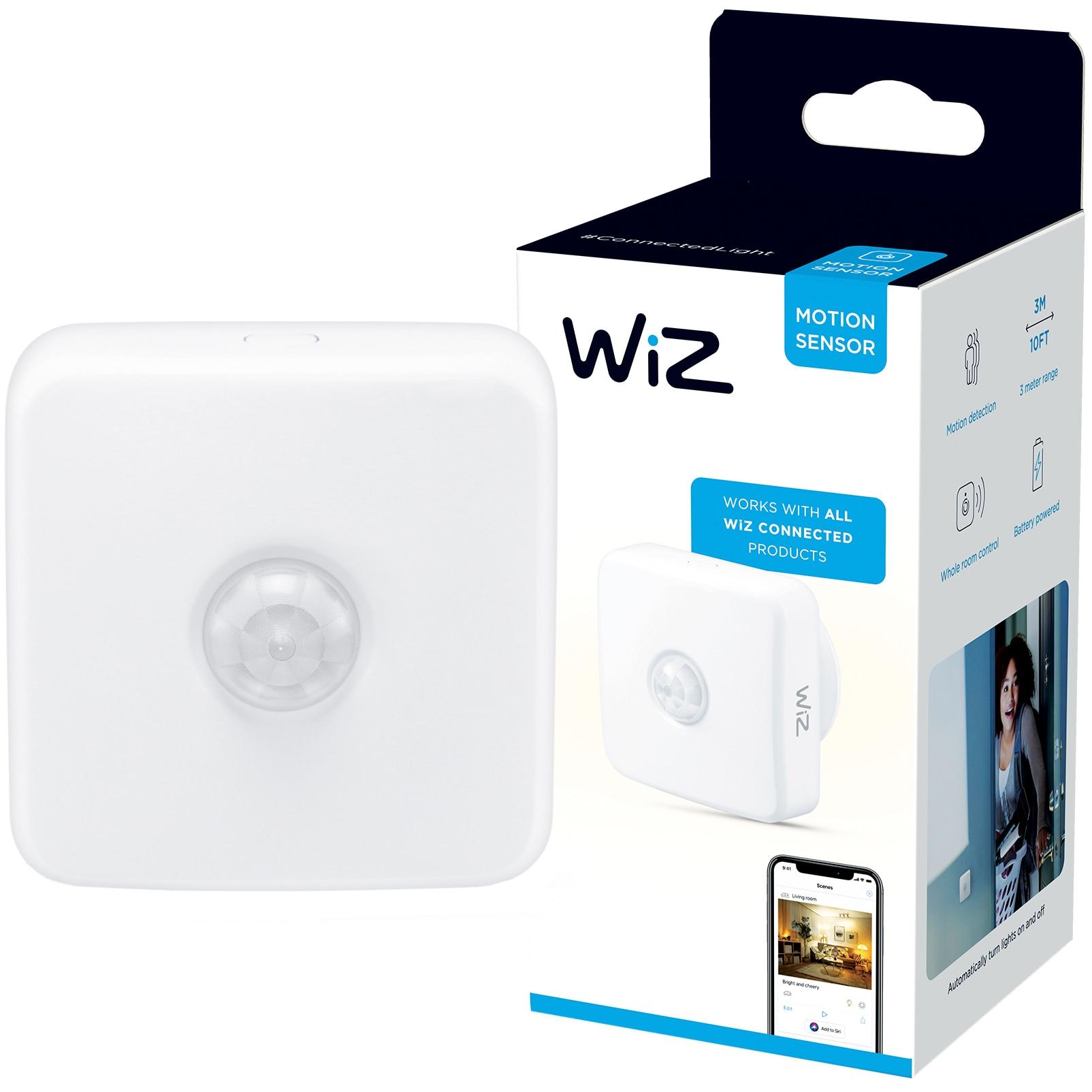 Fotografie Senzor de miscare WiZ Connected, compatibil cu gama WiZ