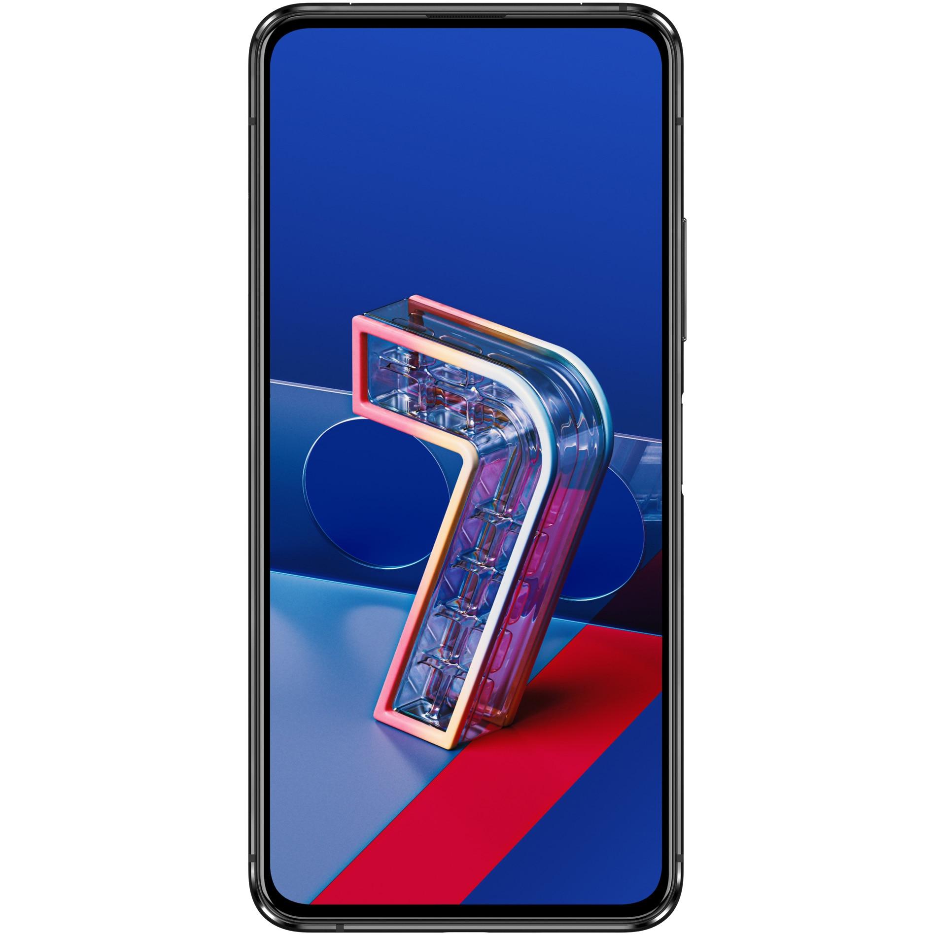 Fotografie Telefon mobil ASUS ZenFone 7, Dual SIM, 128GB, 8GB RAM, 5G, Aurora Black