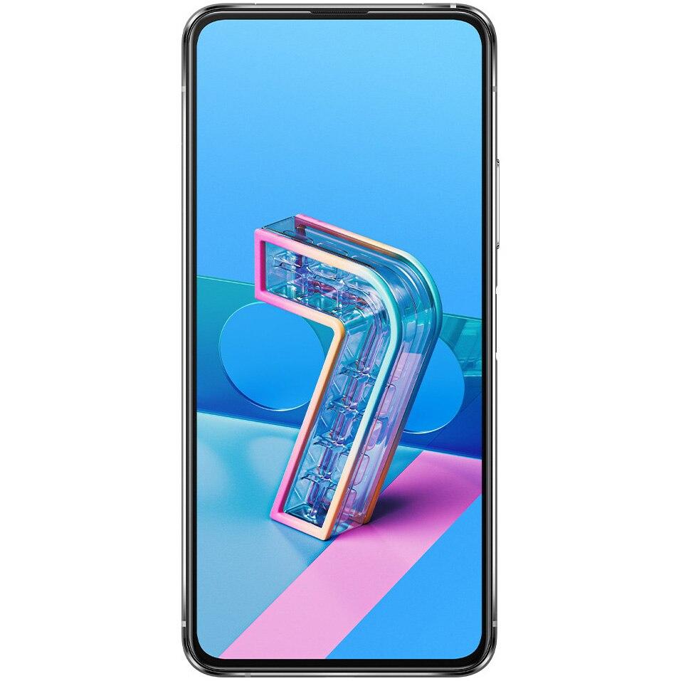 Fotografie Telefon mobil ASUS ZenFone 7 Pro, Dual SIM, 256GB, 8GB RAM, 5G, Pastel White